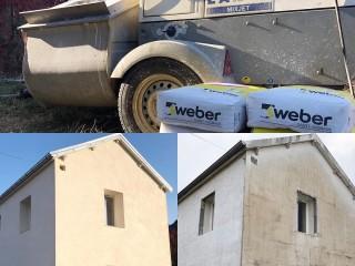 Crépissage d'une maison par isolation thermique par l'extérieur à Vesoul